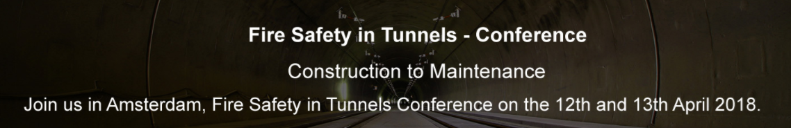 banner fire safety in tunnels  amsterdam 12 13 abril 2017